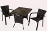 Комплект: стіл  розбірний (1000 мм.) і 4 стільці 3