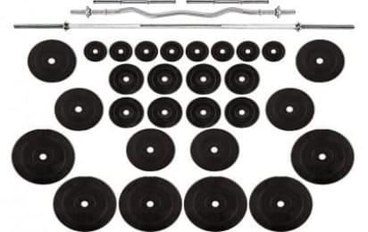 Ідеальний варіант для будинку! Rn-Sport 4 грифа + 120 кг дисків