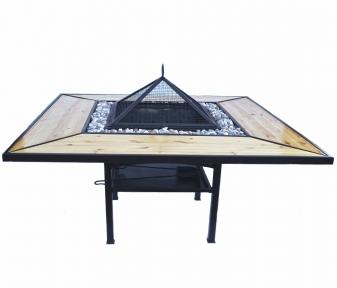 Костровий стіл - гриль - мангал Троян Преміум