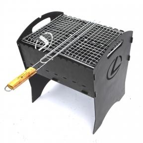 Розбірний мангал Троян Марки авто (3мм + чехол + решітка гриль)