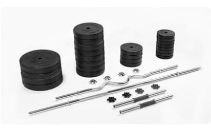 Набор  Rn-Sport  из 4-х грифов и 100 кг дисков