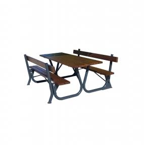 Садовый стол с лавками Braun Rud