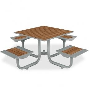 Комплект - стол для пикника антивандальный Rud