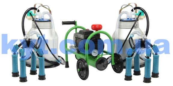 Доїльні апарати Буренка-2 масляного  роторного типу до 20 корів