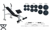 Лава універсальна Rn-Sport, штанга 87 кг, EZ-гриф і 2 гантельних грифа