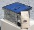 Коптильня гарячого копчення з нержавіючої сталі (300х300х200) 4