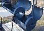 Коптильня горячого та холодного копчення Троян з дахом (Ø 30) 5