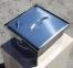 Коптильня гарячого копчення з нержавіючої сталі (300х300х200) 2