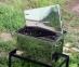Коптильня гарячого копчення мала з нержавійки (400х300х280) 5