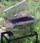 Коптильня гарячого копчення мала з нержавійки (400х300х280) 6