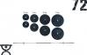Скамья для жима универсальная Rn-Sport с приставкой Скотта + Штанга 72 кг 2