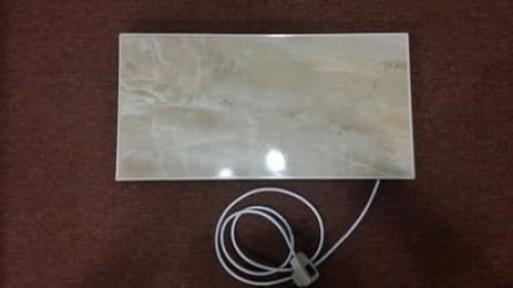 Optilux керамическая панель 300 ВТ з вилкою + 2м провода