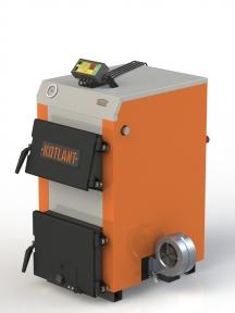 Твердотопливный котел KOTLANT КН-15 с электронной автоматикой и вентилятором.