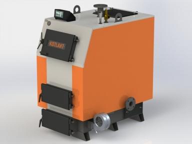 Твердотопливный котел KOTLANT КВ-98 с электронной автоматикой и вентилятором