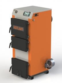 Твердопаливний котел  KOTLANT КГ-18 з електронною автоматикою