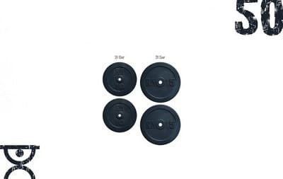 Набір дисків 50 кг Rn-Sport (2x15 і 2x10)